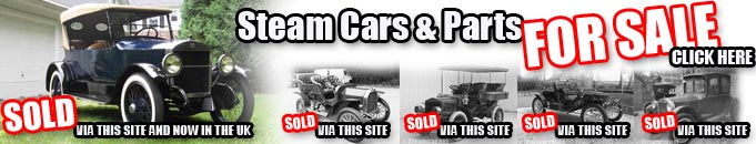 steam cars and parts for sale